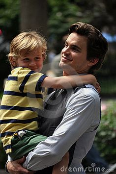How hot is a hot dad...Matt Bomer...White Collar