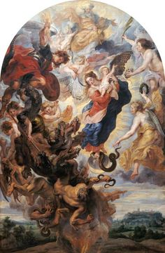 Peter Paul Rubens - The apocalyptic woman.