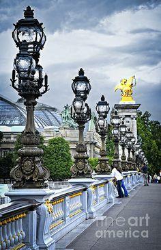 Pont Alexander lli in Paris  Print by Elena Elisseeva  Fine Art America