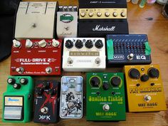 Some more guitar pedals by Terekhova, via Flickr