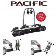 Pacific Platform Folding Bike Carrier Rack 2 Bikes