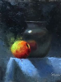 It's All About The Apple by artist Pat Meyer -- Pat Meyer