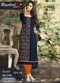 Buy online sarees, salwar kameez and designer kurtis with pure quality fabric and at manufacturer rates. Designer Kurtis Online, Latest Designer Sarees, Designer Dresses, Wedding Lehenga Online, Embroidered Kurti, Tunics Online, Stylish Dresses, Casual Dresses, Kurta Designs