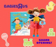 "Come meet the author of Teeth Fairies, Ingrid Bencosme, at the ‪#‎GRANDOPENING‬ of the newly remodeled Babies""R""Us in Bridgewater, NJ this Saturday (January 23rd) from 11-3 pm!  Get your copy of Teeth Fairies signed and enjoy a reading of the book, and then check out all of the other vendors and activities for everyone in the family!  100 Promenade Blvd Bound Brook, NJ 08807  Learn more about the Teeth Fairies at www.teethfairies.com!"