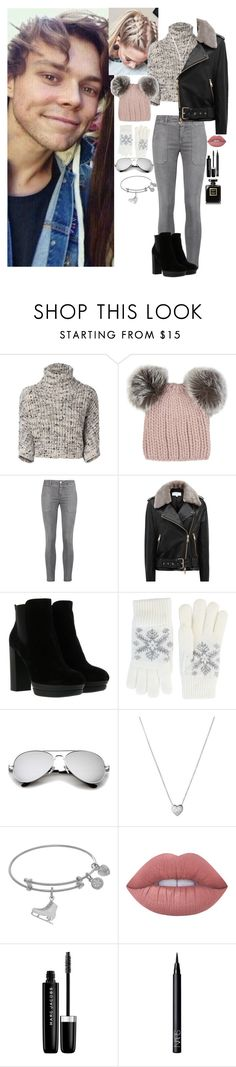 """Winter w/ Ashton"" by rocksanfangirl on Polyvore featuring Brunello Cucinelli, Eugenia Kim, Current/Elliott, Reiss, Hogan, Fits, Links of London, Lime Crime, Marc Jacobs and NARS Cosmetics"