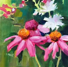 "Daily Paintworks - ""Fresh Start"" - Original Fine Art for Sale - © Libby Anderson"