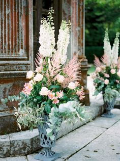 This summer wedding at the Larmer Tree Gardens was full of blush, pink and navy, with roses, peonies and hydrangeas creating an elegant celebration. Tree Wedding, Mod Wedding, Garden Wedding, Summer Wedding, Wedding Flowers, Art Floral, Wedding Ceremony Decorations, Wedding Ideas, Wedding Ceremonies