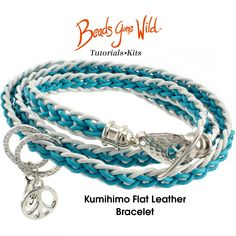Kumihimo Flat Leather Bracelet Kit