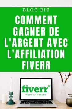 Comment gagner jusqu'à 140 euros par vente grâce au programme d'affiliation Fiverr. Earning Money, Affiliate Marketing, Program Management