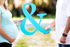 Ampersand Sign - Large 18 inch Ampersand Sign Photo Prop & Maternity Photo Sign - Wedding or Baby Photo Prop (Item - AMP180)