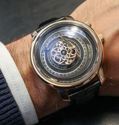 Graham Tourbillon Orrery Watch With Christophe Claret Movement Hands On   graham