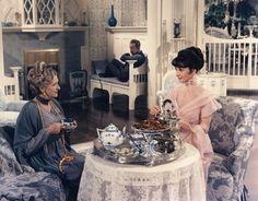 """Gladys Cooper, Audrey Hepburn and Rex Harrison """"My Fair Lady"""" 1964 Audrey Hepburn Movies, Audrey Hepburn Inspired, Charles Rennie Mackintosh, My Fair Lady, Classic Hollywood, Old Hollywood, Hollywood Glamour, Divas, Oscar Winning Movies"""