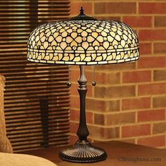 Interiors 1900 Mille Feux Tiffany Table Lamp