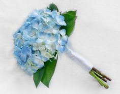 Bridesmaids boquets!!! blue hydrangea wedding bouquet Archives - The Wedding Specialists