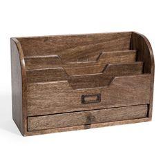 Portacartas de madera FABRIQUE 29 euros
