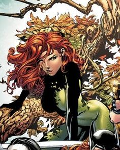 A brilliant botanical biochemist, Pamela Isley is a fervent eco-terrorist out to save the world's plant life by any means necessary. She often finds herself at odds with Batman, though they have, on occasion, fought on the same side. Poison Ivy 3, Poison Ivy Comic, Poison Ivy Dc Comics, Poison Ivy Cosplay, Poison Ivy Batman, Gotham City, Gi Joe, Pamela Isley, Dragon Ball Z