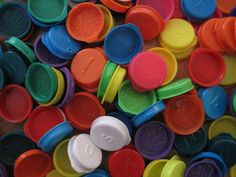 1980's kids remember collecting Smarties lids? Trying to spell out your name and sticking them in the spokes of your bike.