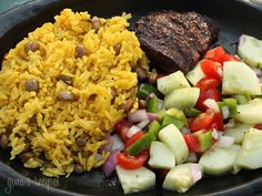 Arroz Con Gandules (Rice and Pigeon Peas) - I love Latin food and this is no exception!