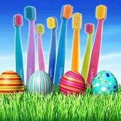 Dentaltown - Do you always remember to put new toothbrushes in your Easter Baskets?  Happy Easter!!!