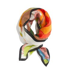 Madewell wool-and-silk scarf.