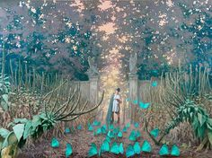 Joanna Sierko-Filipowska; 'The Last Magician'   Oil on canvas   2006