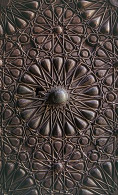 felixinclusis: markscottphotography: Mosque door in Cairo Egypt 2012