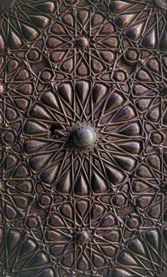 felixinclusis: markscottphotography:Mosque door in Cairo Egypt 2012