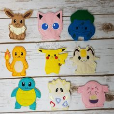 Finger Puppets - Little Monsters