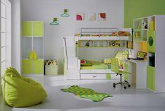 ideas for girl kids rooms | Kids Room Ideas For Girl Sharing Green