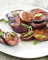 Japanese Spiced Eggplant. So easy and the most delicious eggplant ever.
