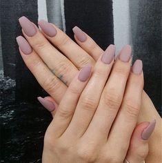 Trendy nail polish colors e. This year 2019 - Trendy nail polish colors e. This year 2019 – – # Nail polish colors - Coffin Nails Matte, Matte Nail Polish, Cute Acrylic Nails, Nail Polish Colors, Color Nails, Blue Matte Nails, Pink Coffin, Matte Red, Stiletto Nails