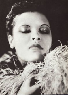 "Billie Holiday: American jazz singer and song writer.Notable songs sung: ""Strange Fruit,"" and ""Lady Sings the Blues"""