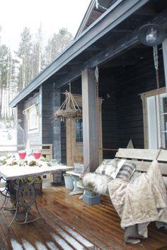 Winter feelings Villa, Exterior, Patio, Outdoor Decor, Home Decor, Decoration Home, Room Decor, Outdoor Rooms, Home Interior Design