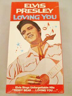 Loving You (VHS) SEALED1989 Elvis Presley 1967 Film Movie Music Teddy Bear Video $9.99 #ElvisMovies#ElvisFilm#ElvisVHStape#musical