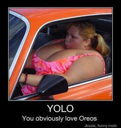 YOLO. you obviously love oreos
