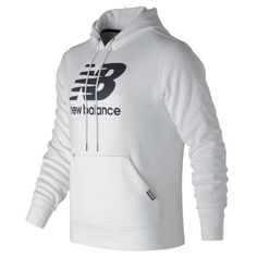 New Balance 63551 Men's Classic Pullover Hoodie - White (MT63551WT)