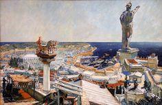 Frantisek Kupka - Babylon, 1906