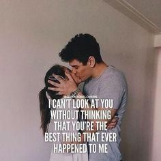 Love Quote & Saying Image Description If you are with someone or just love relationship quotes, we have 80 couple love quotes that will warm your heart, put a smile on your face and make you want to kiss the one you Missing Someone Quotes, I Miss You Quotes, Bae Quotes, Love Quotes For Him, Love Couple Quotes, Quotes For Couples, Qoutes, Long Term Relationship Goals, Relationship Quotes
