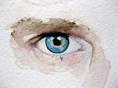 Eye Painting Custom Eye Portrait Original by ashleywhitejacobsen