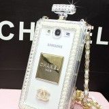 clear Bling chanel samsung s6 perfume bottle case