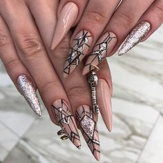 """15.5k Likes, 634 Comments - +7(919)7777-2-79MOSCOW  (@nail_sunny) on Instagram: """"1? 2? 3?"""""""