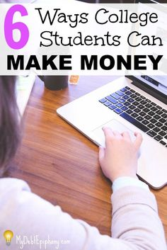 Six Ways College Students Can Make Money. College life can get stressful but it is possible to make money and maintain good grades.