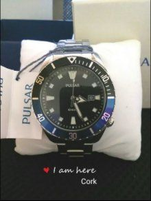 Brand New Pulsar 100m Dive Style Men's Watch