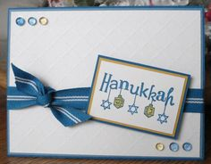 Happy Hanukkah Card DIY