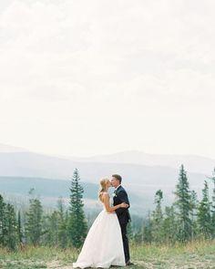 "Love on top | ""Cameron"" by #Amsale, #RealWedding @annieparishphoto via @smpweddings"