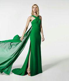 Vestido largo tintoretto coronation