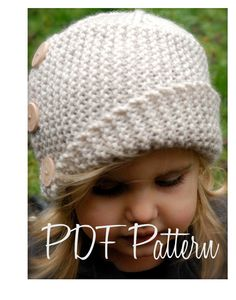 Im am going to make this for me,! Knitting PATTERNThe Piper Cloche' Toddler Child by Thevelvetacorn