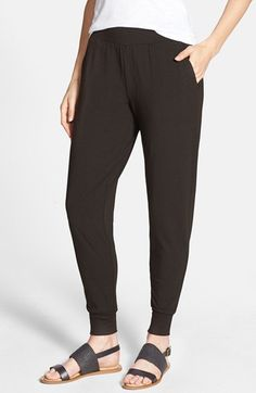 Eileen Fisher Slouchy Jersey Capri Pants (Online Only) available at #Nordstrom