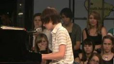 Greyson Chance Singing Paparazzi, via YouTube. He has so much talent and I love the cover he did of my song.