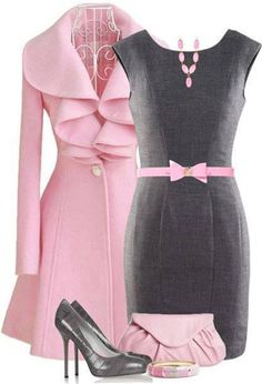 "love the jacket! the pink bow can go...adult women do not want to be ""cutesy"""